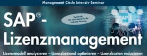 Header E3 SAP Lizenzmanagement
